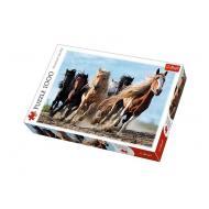 упаковка игры Пазл Кони в галопе 1000 элементов Trefl