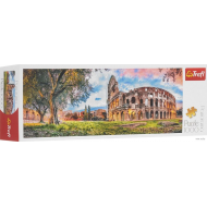 упаковка игры Пазл Колизей утром панорамный 1000 элементов Trefl