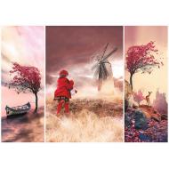 упаковка игры Пазл Сказочная страна, романтика 1000 элементов Trefl