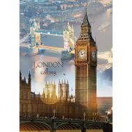 упаковка игры Пазл Лондон на рассвете 1000 элементов Trefl