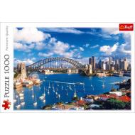 упаковка игры Пазл Порт Джексон Сидней 1000 элементов Trefl