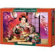 упаковка игры Пазл Гейша 1000 элементов Castorland