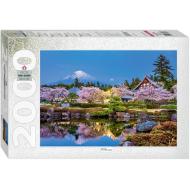 упаковка игры Пазл Япония весной. Сидзуока 2000 элементов