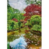 упаковка игры Пазл Нидерланды. Гаага. Японский сад 1500 элементов