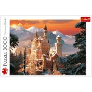 упаковка игры Пазл Зимний дворец Нойшванштайн 3000 элементов Trefl