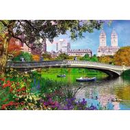 упаковка игры Пазл Центральный парк Нью-Йорк 1000 элементов Trefl