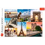 упаковка игры Пазл Магия Парижа - коллаж 3000 элементов Trefl