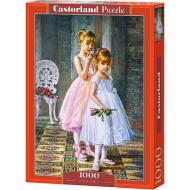 упаковка игры Пазл Юные балерины 1000 элементов Castorland