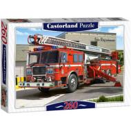 упаковка игры Пазл Пожарная машина 260 элементов Castorland