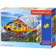упаковка игры Пазл Вертолет 260 элементов Castorland