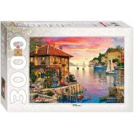упаковка игры Пазл Средиземное море 3000 элементов Step Puzzle
