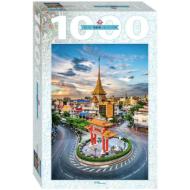 упаковка игры Пазл Тайланд Бангкок Чайна-таун 1000 элементов Step Puzzle