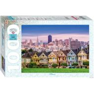 упаковка игры Пазл США Сан-Франциско 1000 элементов Step Puzzle