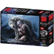 упаковка игры Пазл Super 3D Надежный защитник 500 деталей