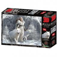 упаковка игры Пазл Super 3D Зимние стражи 500 деталей