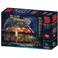 упаковка игры Пазл Super 3D Хранитель секретов 500 деталей