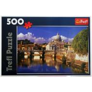 упаковка игры Пазл Ватикан, Рим, Италия 500 элементов Trefl