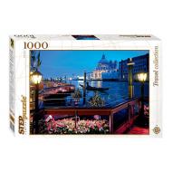 упаковка игры Пазл Италия Венеция 1000 элементов Step Puzzle