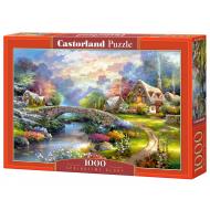упаковка игры Пазл Весна 1000 элементов Castorland