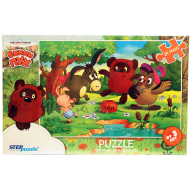 упаковка игры Пазл Винни-Пух 24 элемента макси Step Puzzle