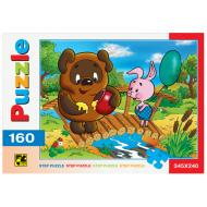 упаковка игры Пазл Винни Пух 160 элементов Step Puzzle