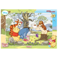 упаковка игры Пазл Винни и его друзья 160 элементов Step Puzzle