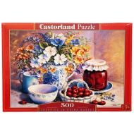 упаковка игры Пазл Вишня в корзинке 500 элементов Castorland