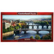 упаковка игры Пазл Река Влтава 4000 элементов Castorland