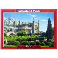 упаковка игры Пазл Воронцовский дворец Крым 1000 элементов Castorland