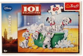 Пазл 101 Далматинец - пенная ванна 60 элементов Trefl