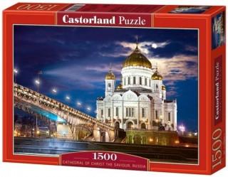 Пазл Храм Христа-Спасителя 1500 элементов Castorland