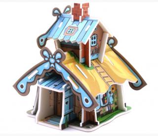Модель Дачный домик Умная бумага