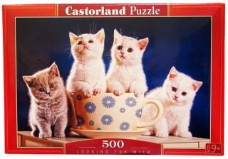 Пазл 4 котенка 500 элементов Castorland