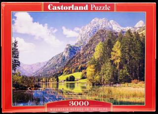 Пазл Альпы 3000 элементов Castorland