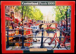 Пазл Пейзаж Амстердам 1000 элементов Castorland