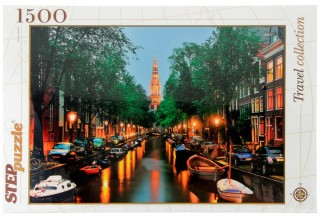 Пазл Амстердам 1500 элементов Step Puzzle