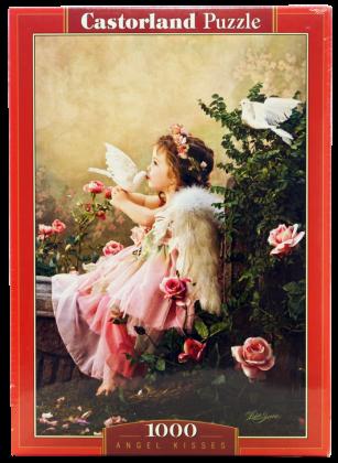 Пазл Поцелуй ангела 1000 элементов Castorland