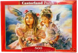 Пазл Ангелы 500 элементов Castorland