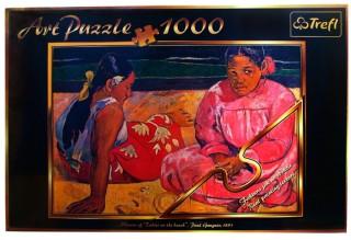 Пазл Таитянские женщины на пляже 1000 элементов Trefl