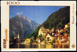 Пазл Австрия Хальсштадт 4000 элементов Step Puzzle