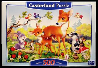 Пазл Бемби и друзья 500 элементов Castorland