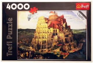 Пазл Вавилонская башня 4000 элементов Trefl