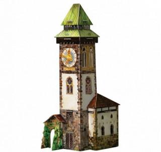 Башня с часами Умная бумага