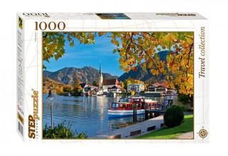 Пазл Бавария Озеро Тегернзее 1000 элементов Step Puzzle