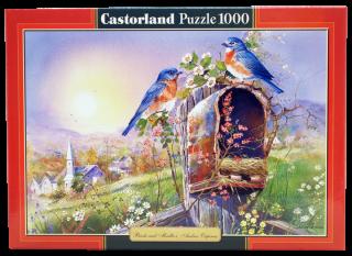 Пазл Птицы 1000 элементов Castorland
