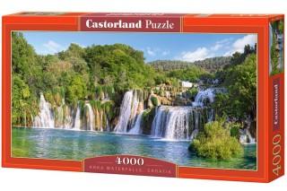 Пазл Водопады Крка Хорватия 4000 элементов Castorland