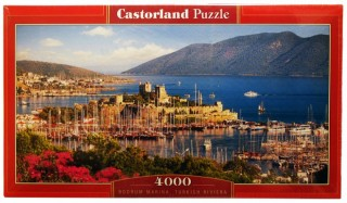 Пазл Бодрум Турция 4000 элементов Castorland