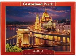 Пазл Будапешт в сумерках 2000 элементов Castorland