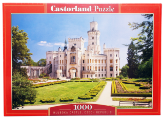 Пазл Замок Чехия 1000 элементов Castorland