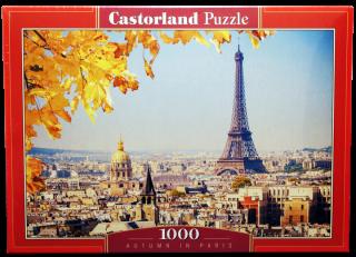 Пазл Осень в Париже 1000 элементов Castorland